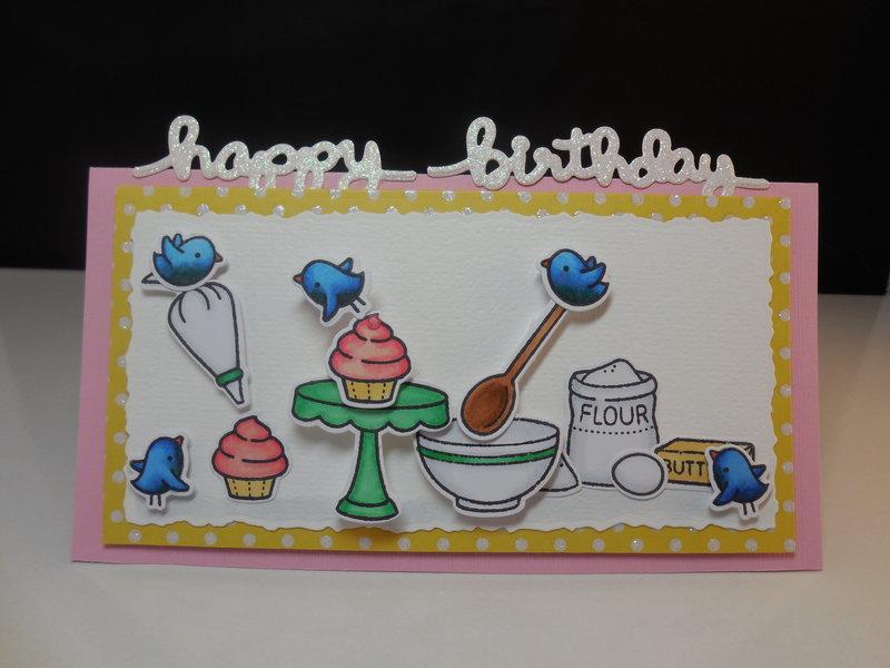 Lawn Fawn Birthday Card Challenge
