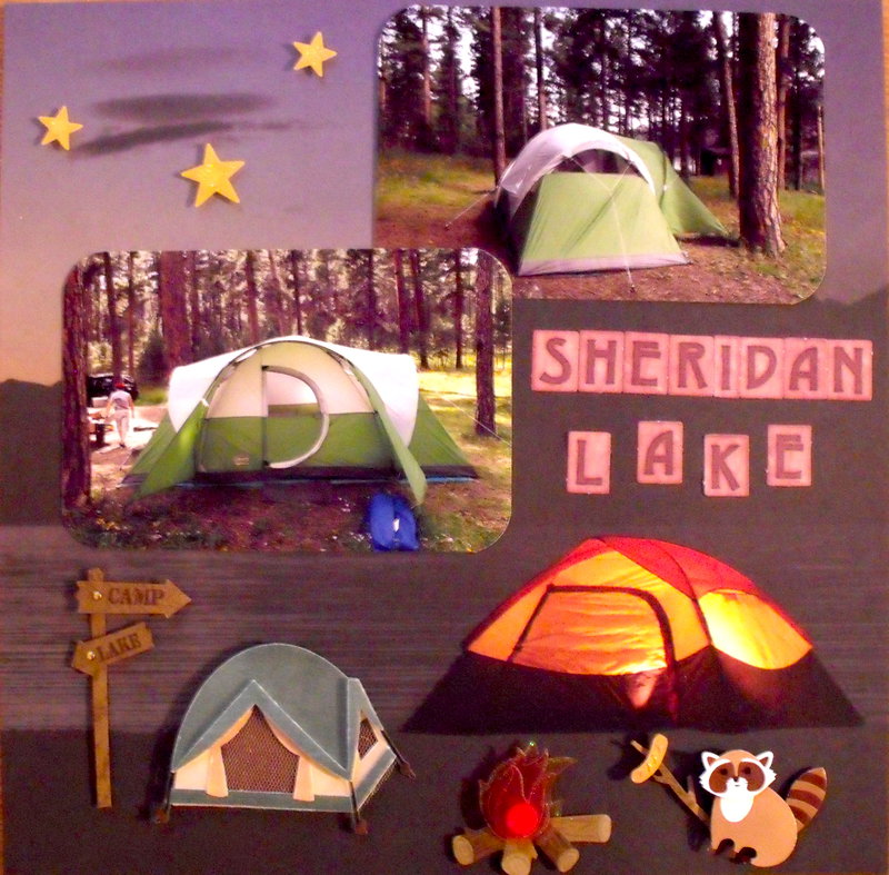 Camping at Sheridan Lake