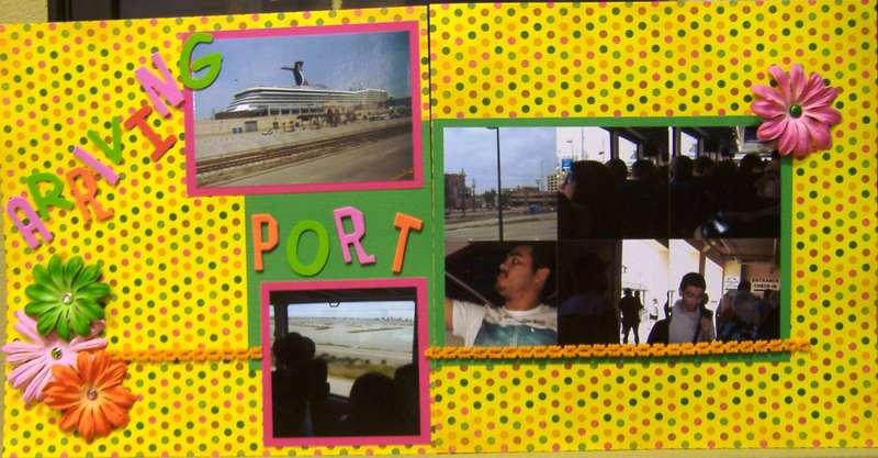 Arriving Port