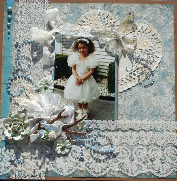 Gabby~Swirlydoo's Antique Linen Kit