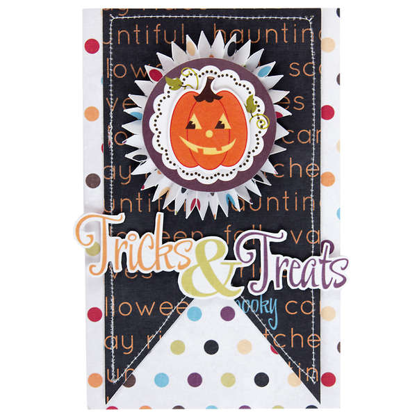 Tricks & Treats Greeting Card using Monster Mash collection