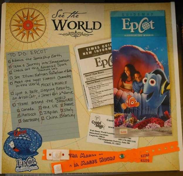 Epcot Title Page