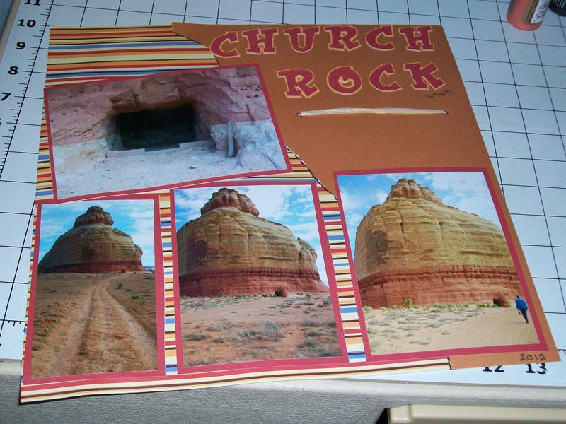Church rock in Utah