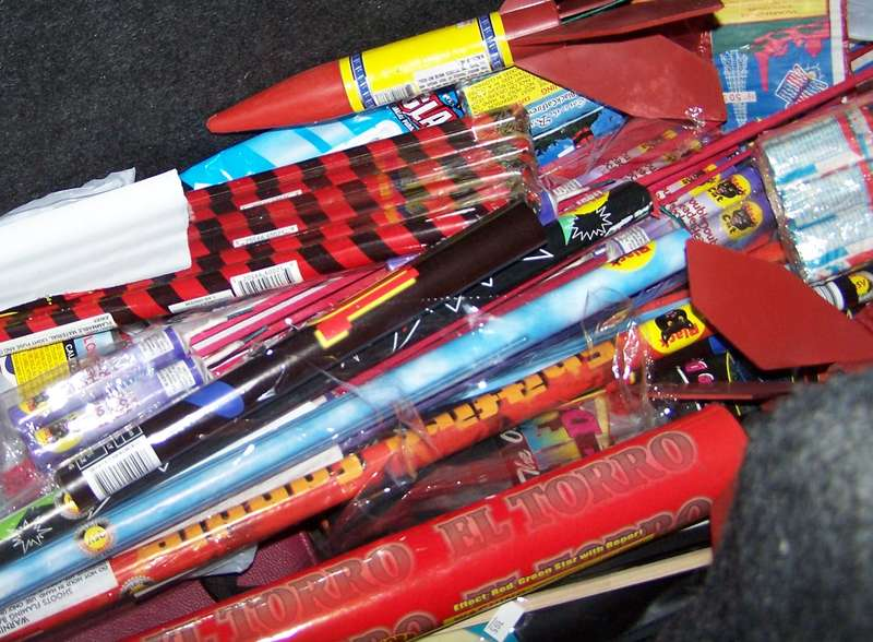 2. Box of Fireworks {10 pts.}