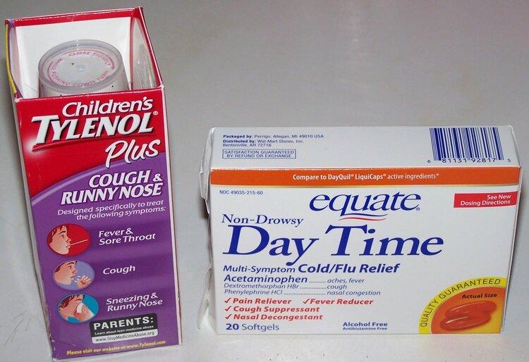 1. Cold Medicine {10 pts.} Extra