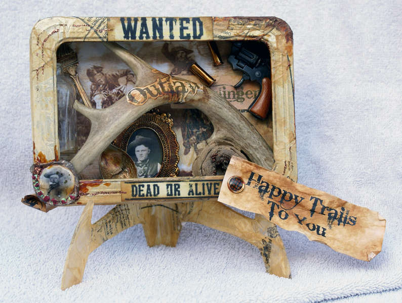 """""""Wanted"""" Western Altered Tin"""
