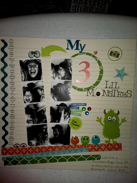my three monsters