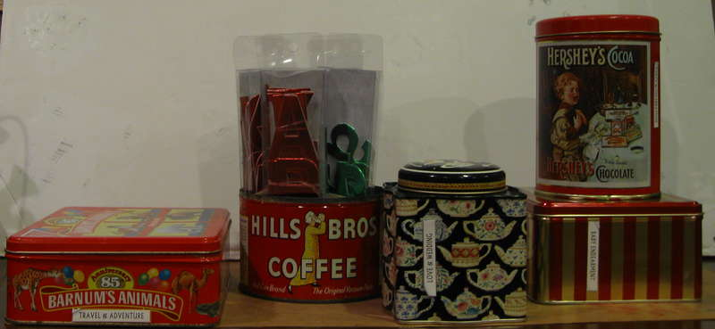 More tins to hold embellishments
