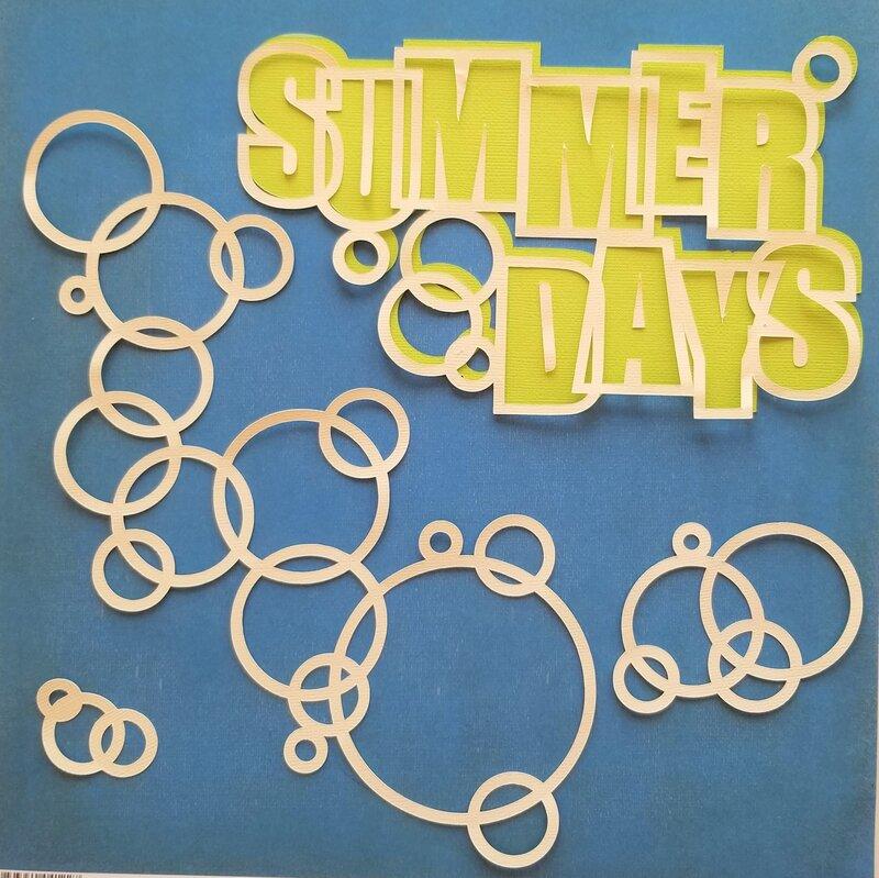 SUMMER DAYS cutfile