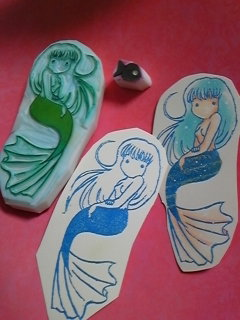 Eraser Stamp [Mermaid]