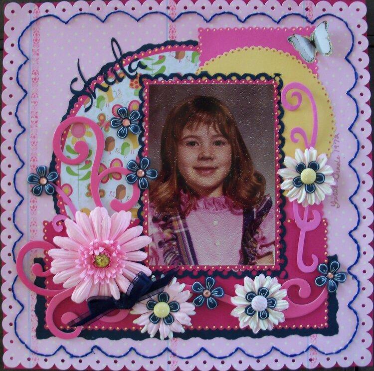 Sheila~First Grade 1972