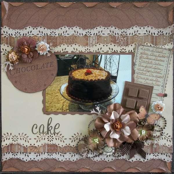 CHOCOLATE CHALLENGE ~German Choclolate Cake