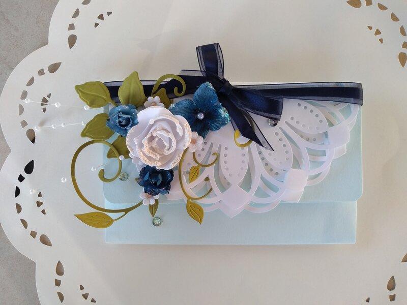 Bridal Money Gift Card holder for my Sister