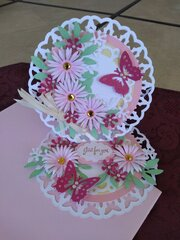 Butterfly Easle card
