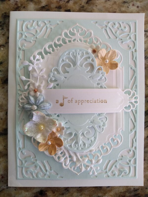 Card for our Pastor and his Wife