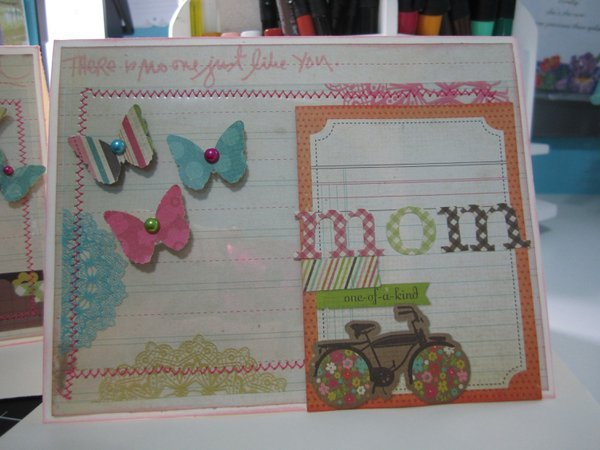 Mother's Day Cards - Simple Stories Fabulous