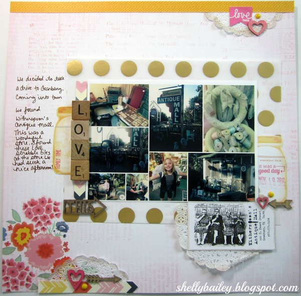 """""""Love This"""" Layout - NSD Challenge Sketch"""