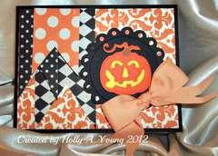 Grand Son's Halloween Card