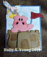 Piggie card