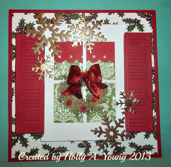 Winter Window card