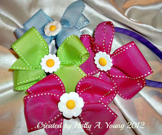 Boutique bows for granddaughter