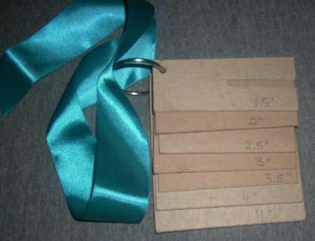 Bows step 1