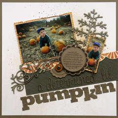 A determined lil pumpkin
