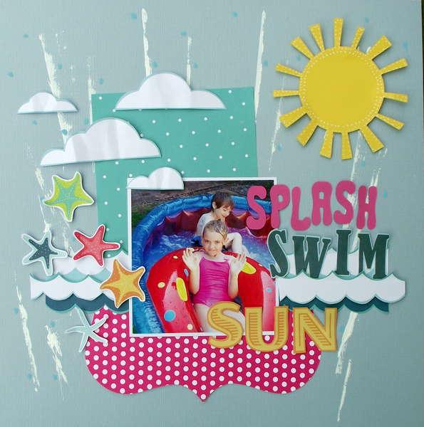 Splash, Swim, Sun