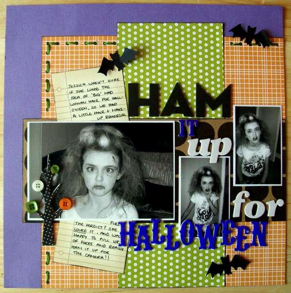 Ham it up for Halloween