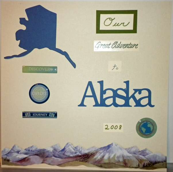 Title Page from Alaska Trip Album