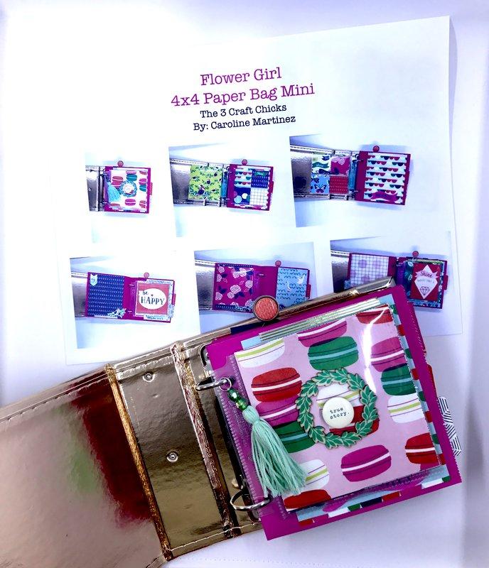 Flower Girl 4x4 Paper Bag Hybrid