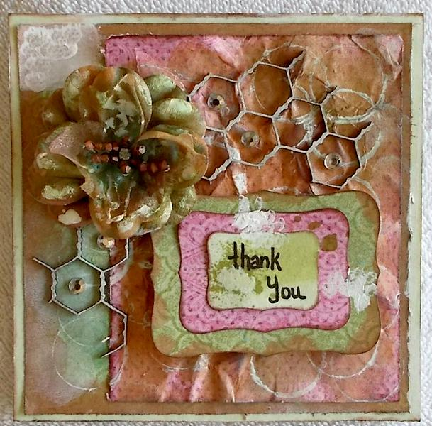 **Funtoolas** November kit, DT, card