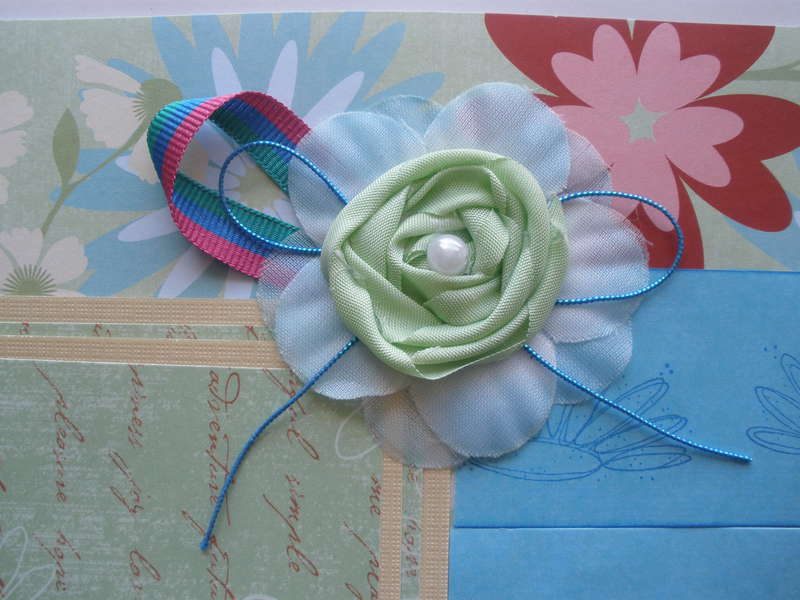 Close Up Flower on Layout