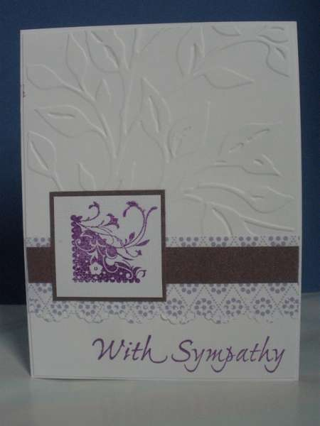 Embossed With Sympathy
