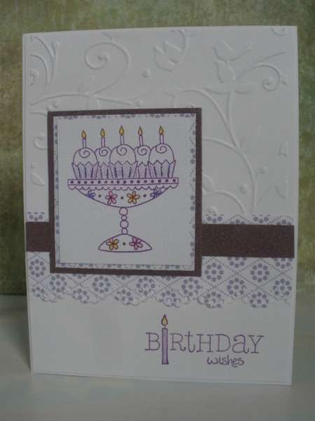 Embossed Birthday Wishes
