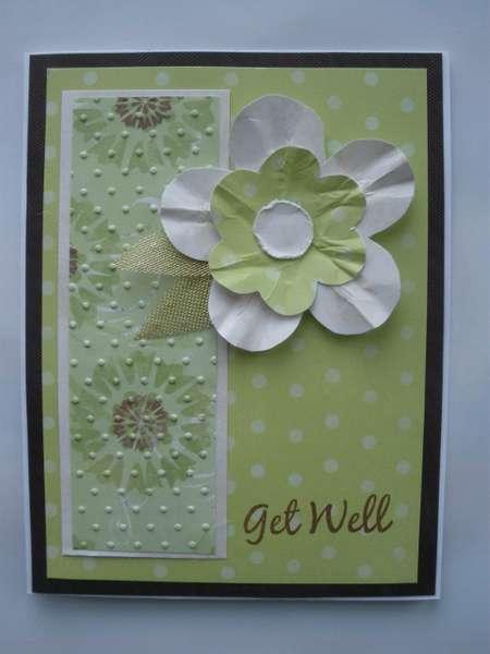Get Well Flower Card