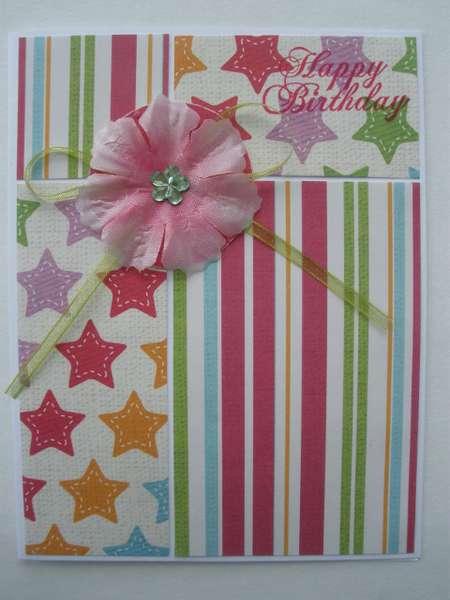 Colorful Stars & Stripes Birthday
