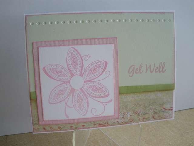Get Well Pink Flower