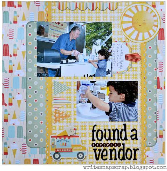 Found A Favorite Vendor (My Creative Scrapbook)