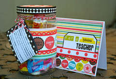 Teacher Gift and Card