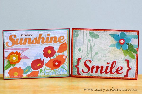 Poppy Card Pair