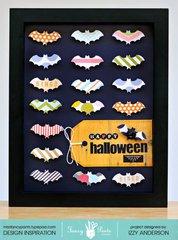 Going Batty: Altered Halloween Frame