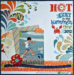 Hot Fun in the Summertime (My Creative Scrapbook)