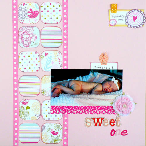 Sweet One (Scrappy Chic Cafe)