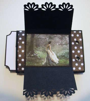 toilet paper mini album swap with jennifer1009