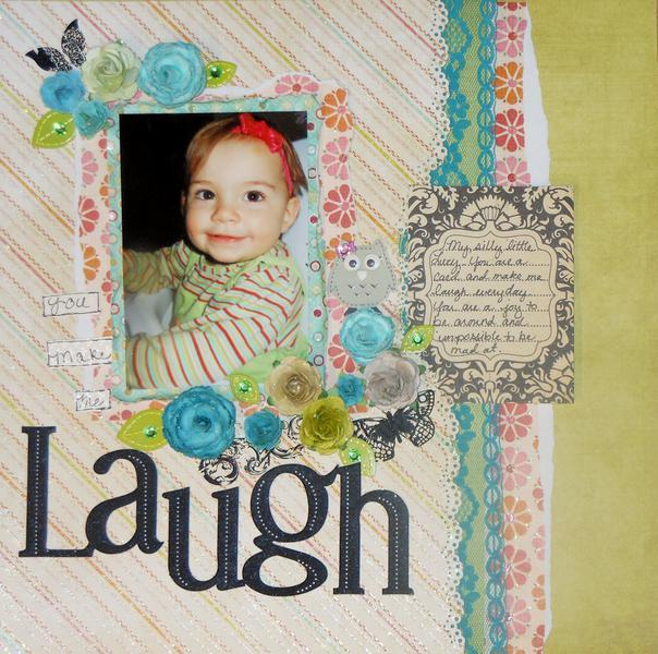 You make me laugh