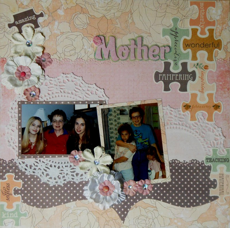 Puzzle Pieces of a mother