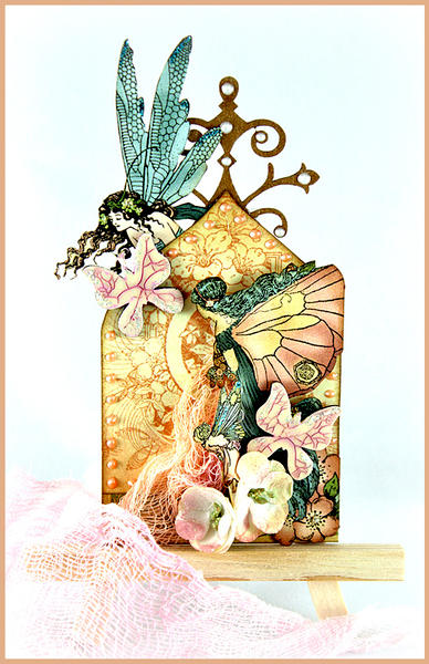 Butterflies and Fairies ATC *The Dusty Attic*