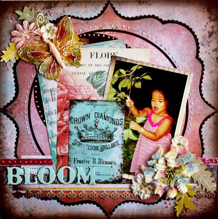 Bloom ***February Scrap That!***