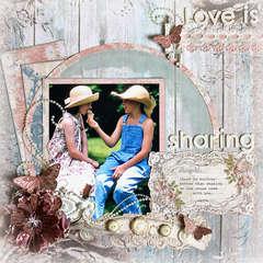 Love is Sharing *Zva Creative*